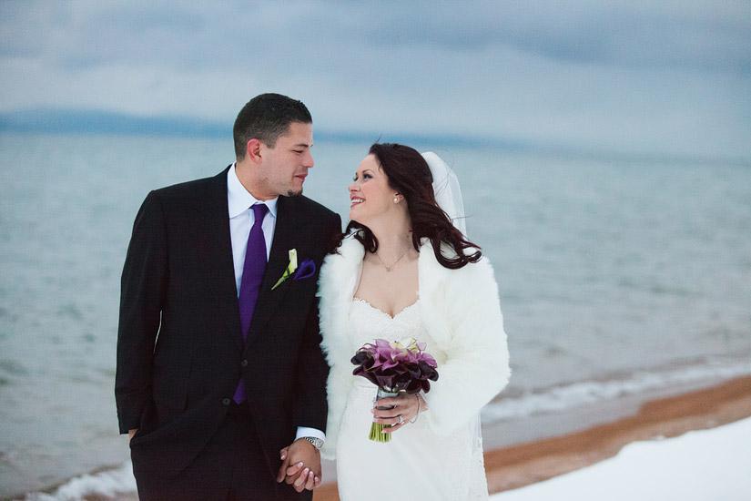 lake tahoe winter weddings