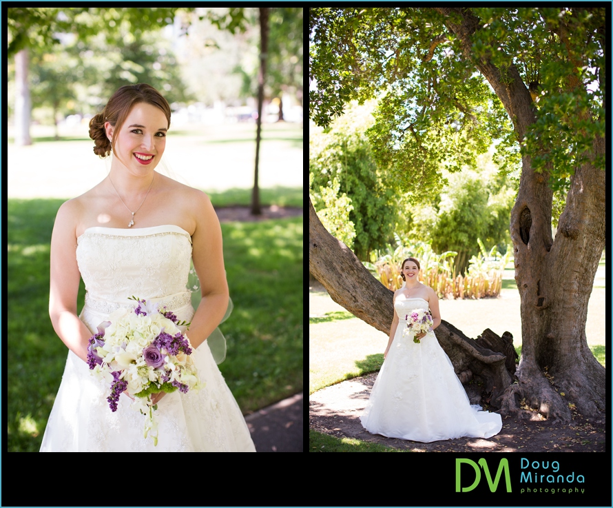 sacramento rose garden wedding