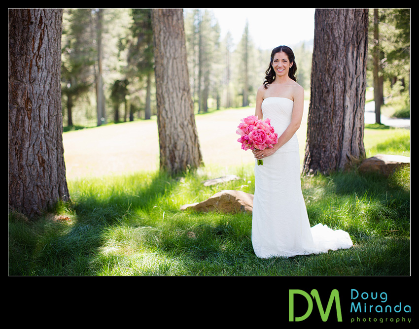 Truckee bridal photos