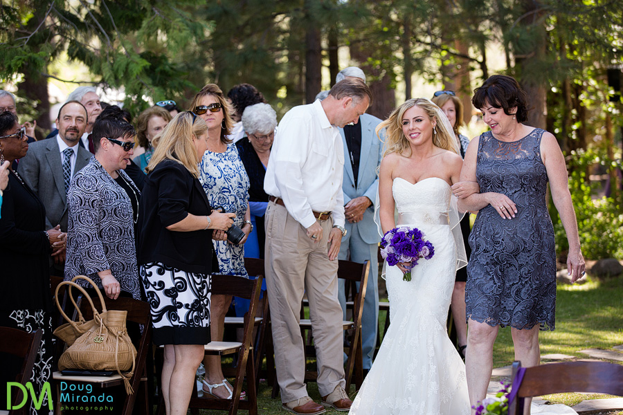 tahoe city wedding ceremony