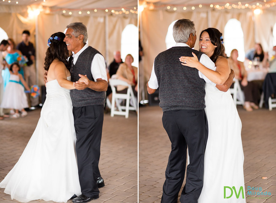 angela's father daughter dance on her wedding day