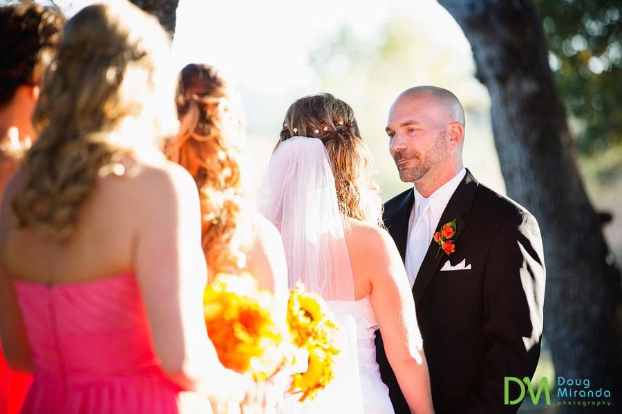 the ridge golf course wedding ceremony photos of alex the groom