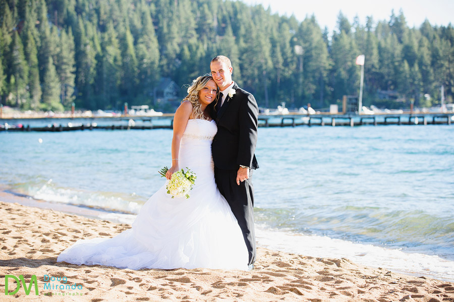 zephyr cove beach wedding photos