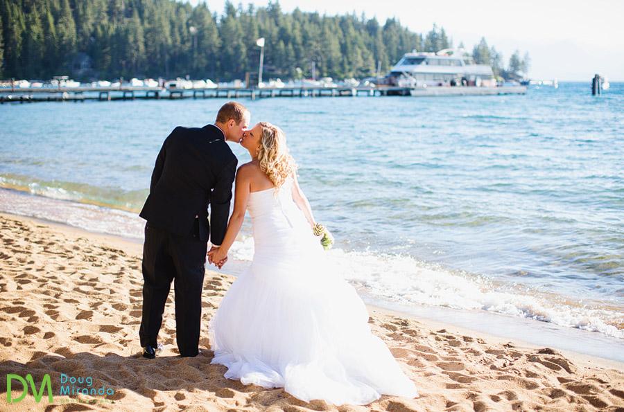 tahoe paradise boat wedding photos