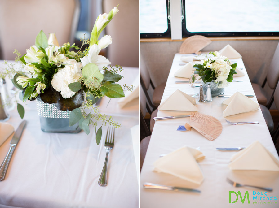 tahoe paradise boat wedding reception photos