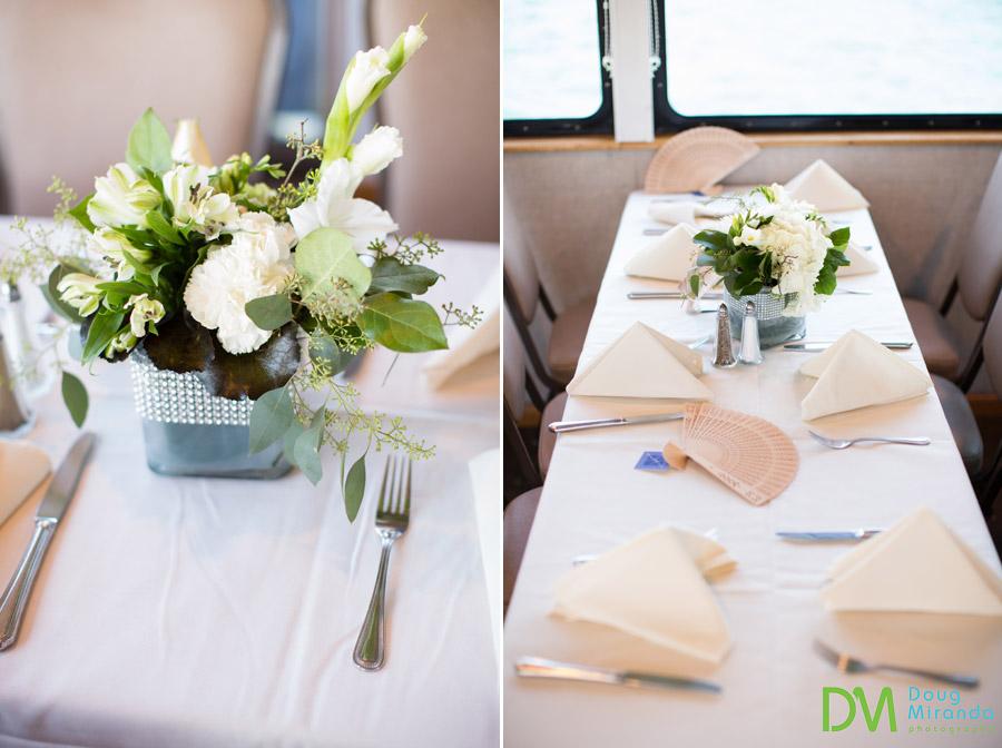 tahoe paradise boat wedding reception photos