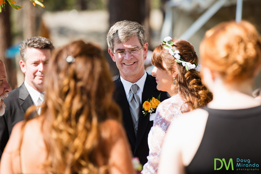 lake tahoe beach wedding ceremony  photos
