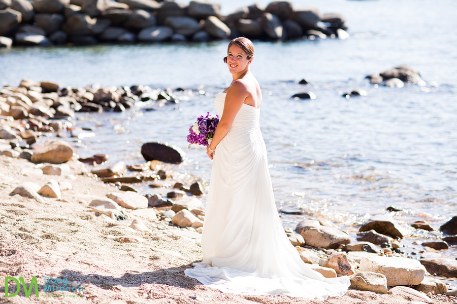 lake tahoe bridal portraits