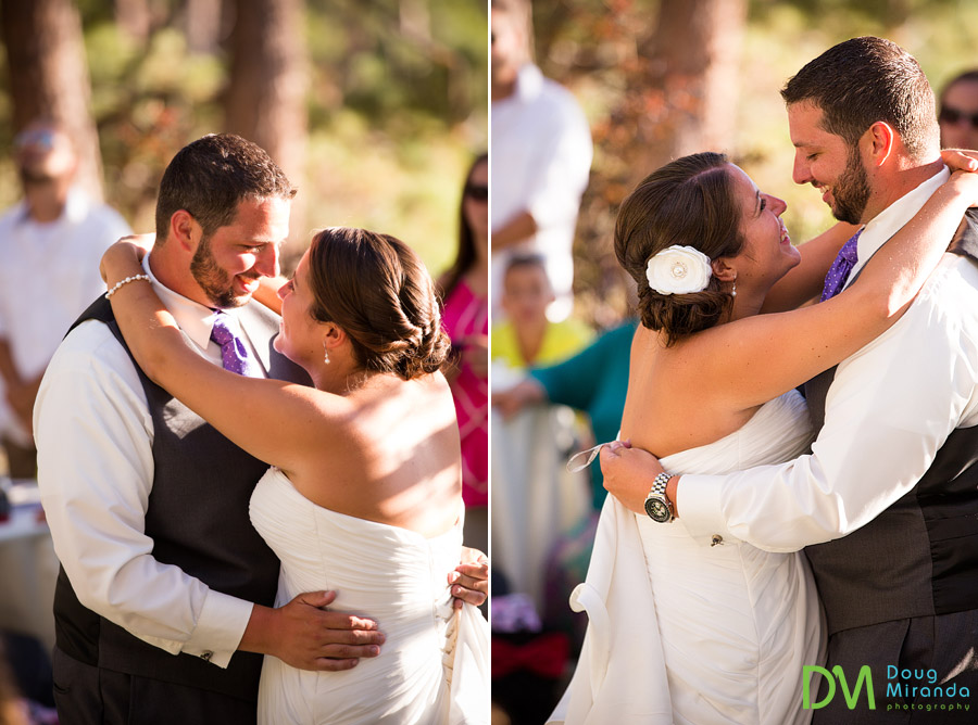 first dance wedding photos of chris and carissa