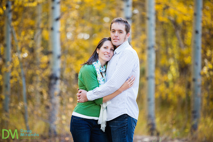 fall engagement photography lake tahoe