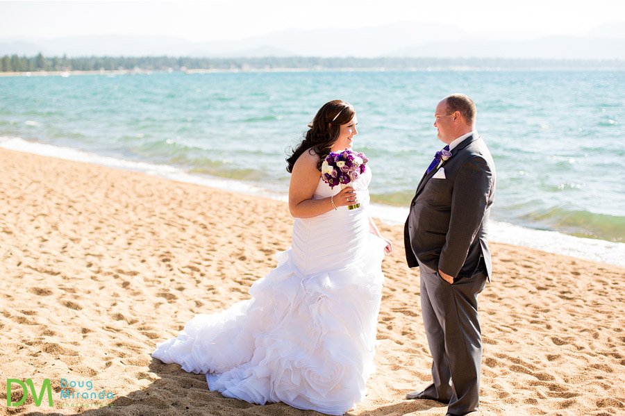 edgewood tahoe wedding first look