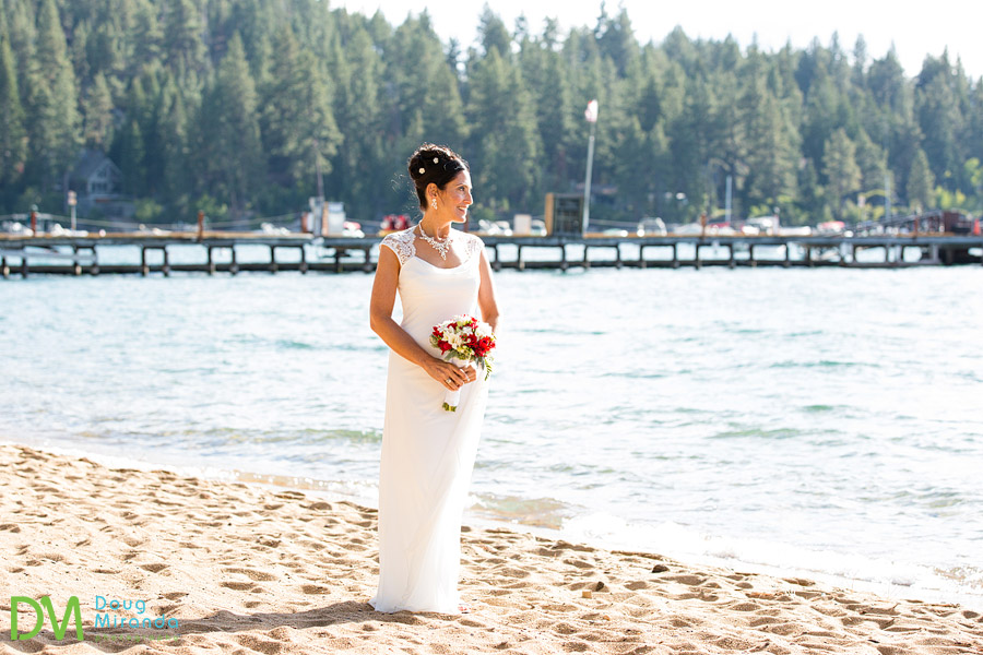 lake tahoe bridal photos