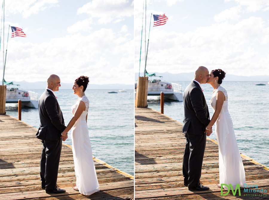 lake tahoe beach weddings