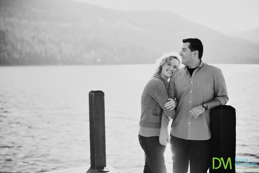Truckee engagement photography