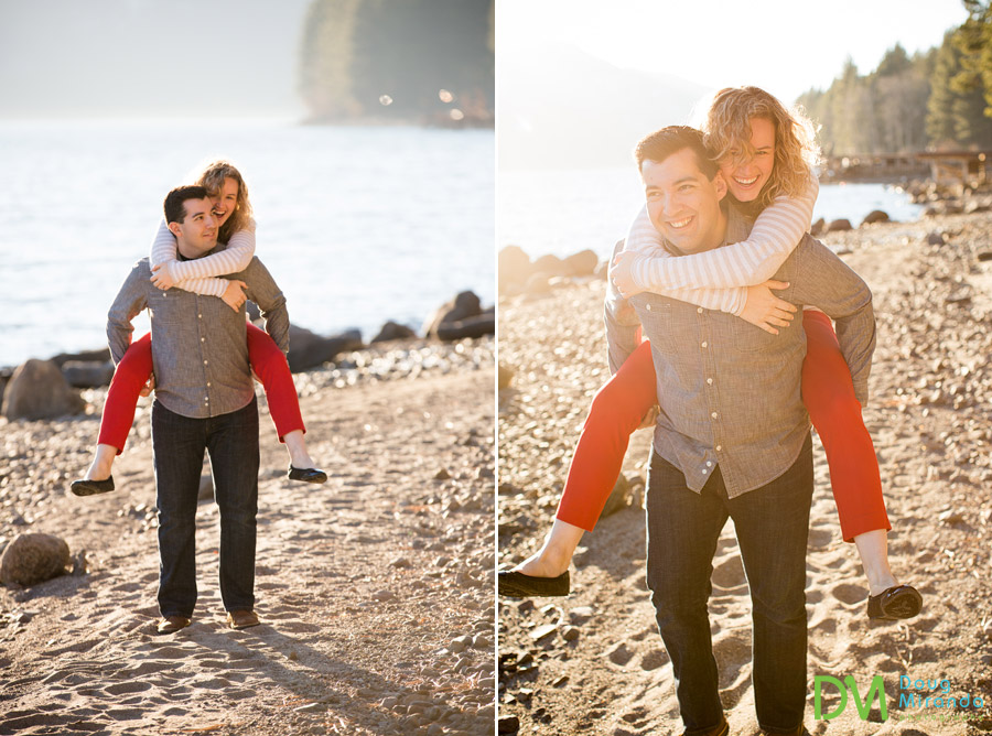 lake tahoe engagement photography
