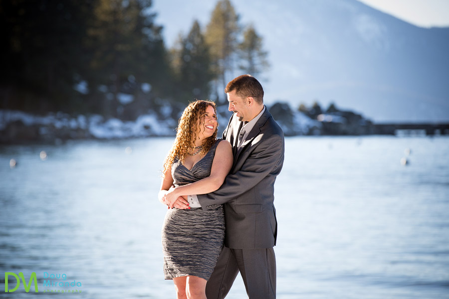south lake tahoe engagement photography