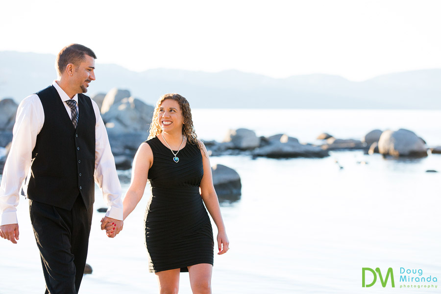 zephyr cove engagement phtoography