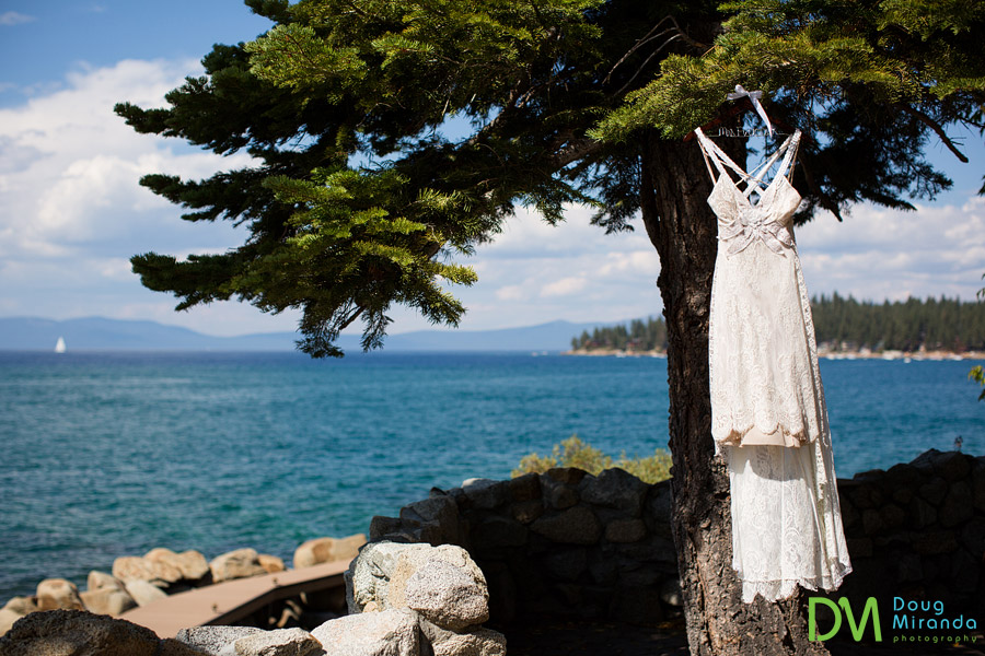 k'gari house lake tahoe wedding photos of a dress