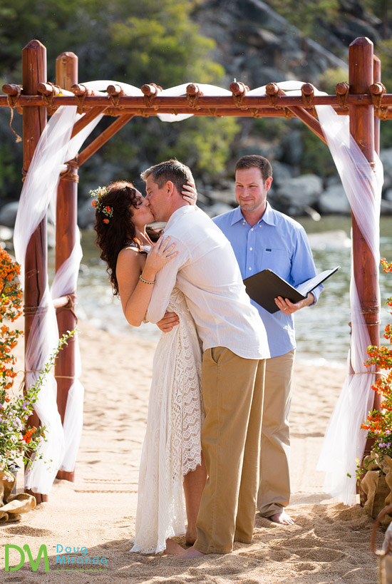 mountain lake beach weddings