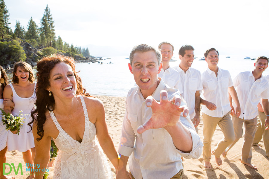 fun bridal party poses