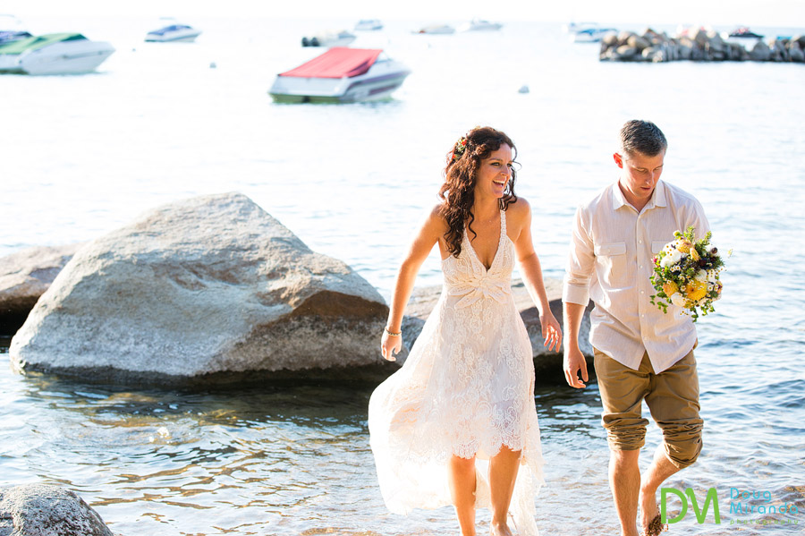 lake tahoe wedding photos