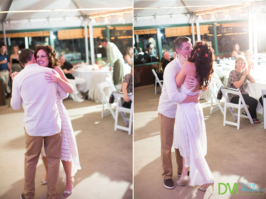 first dance photos at a south lake tahoe wedding