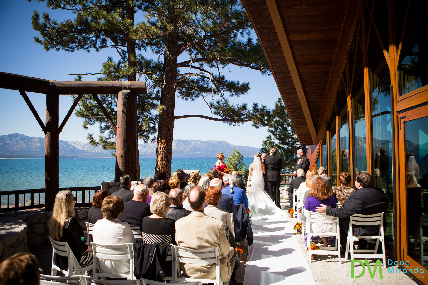 edgewood tahoe wedding south room