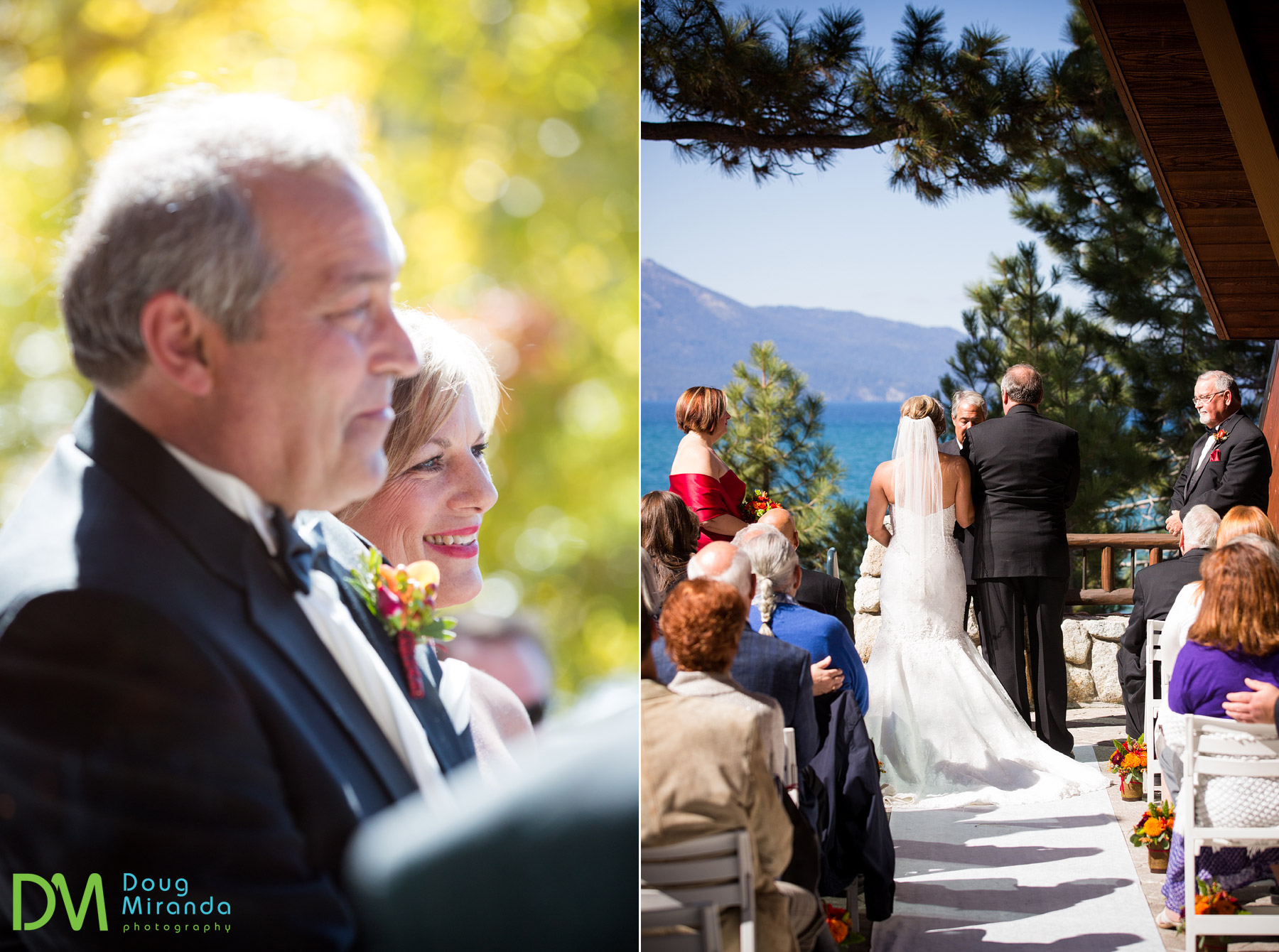 edgewood tahoe fall wedding photography