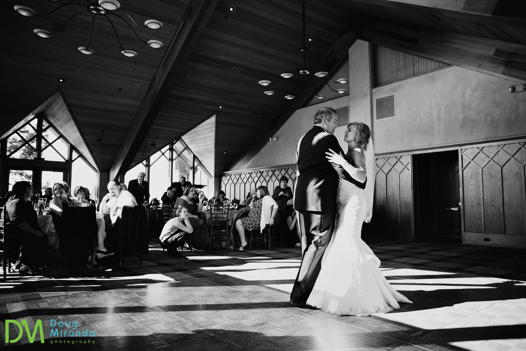 lake tahoe wedding reception photos