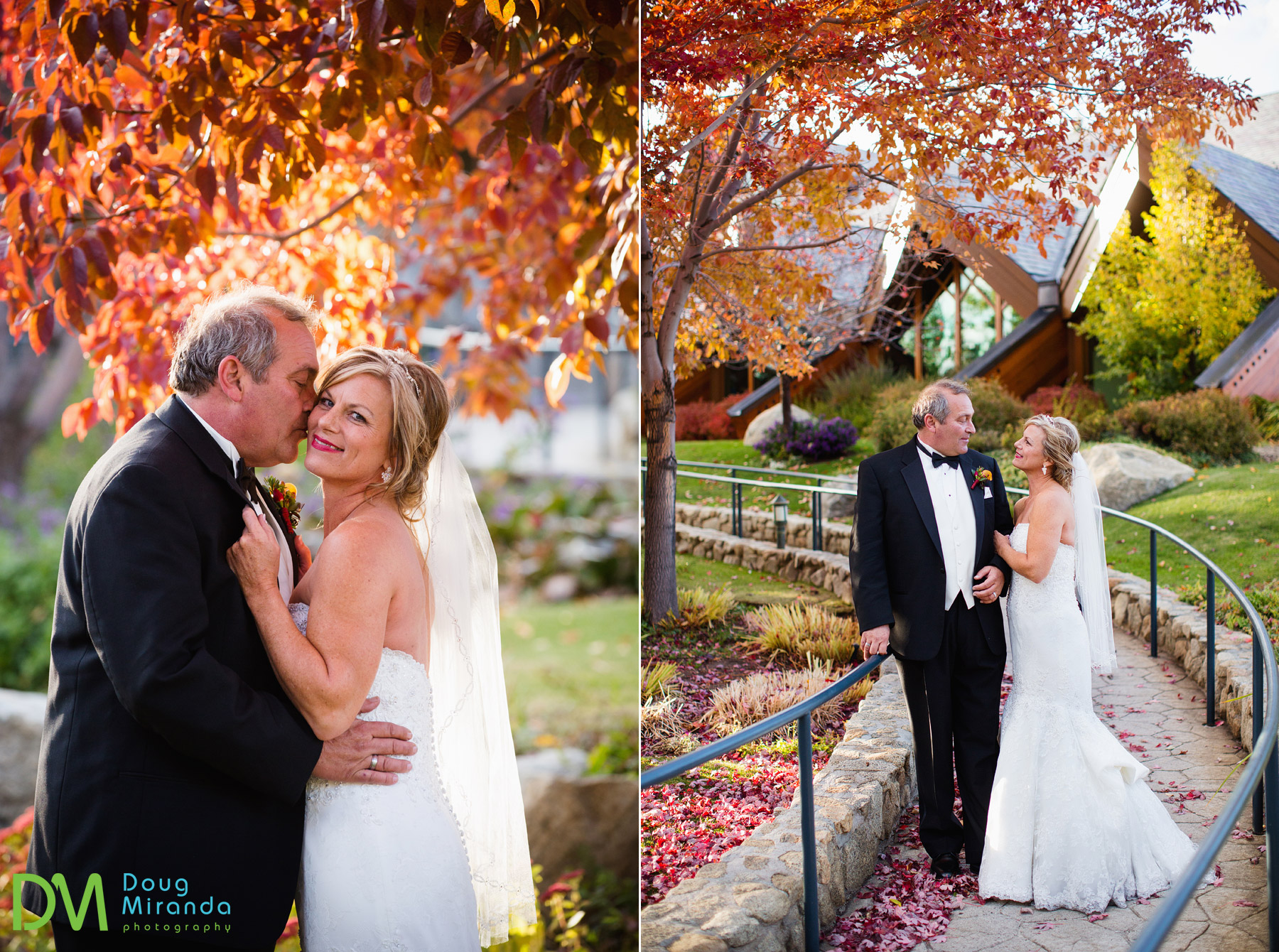lake tahoe fall wedding location photos