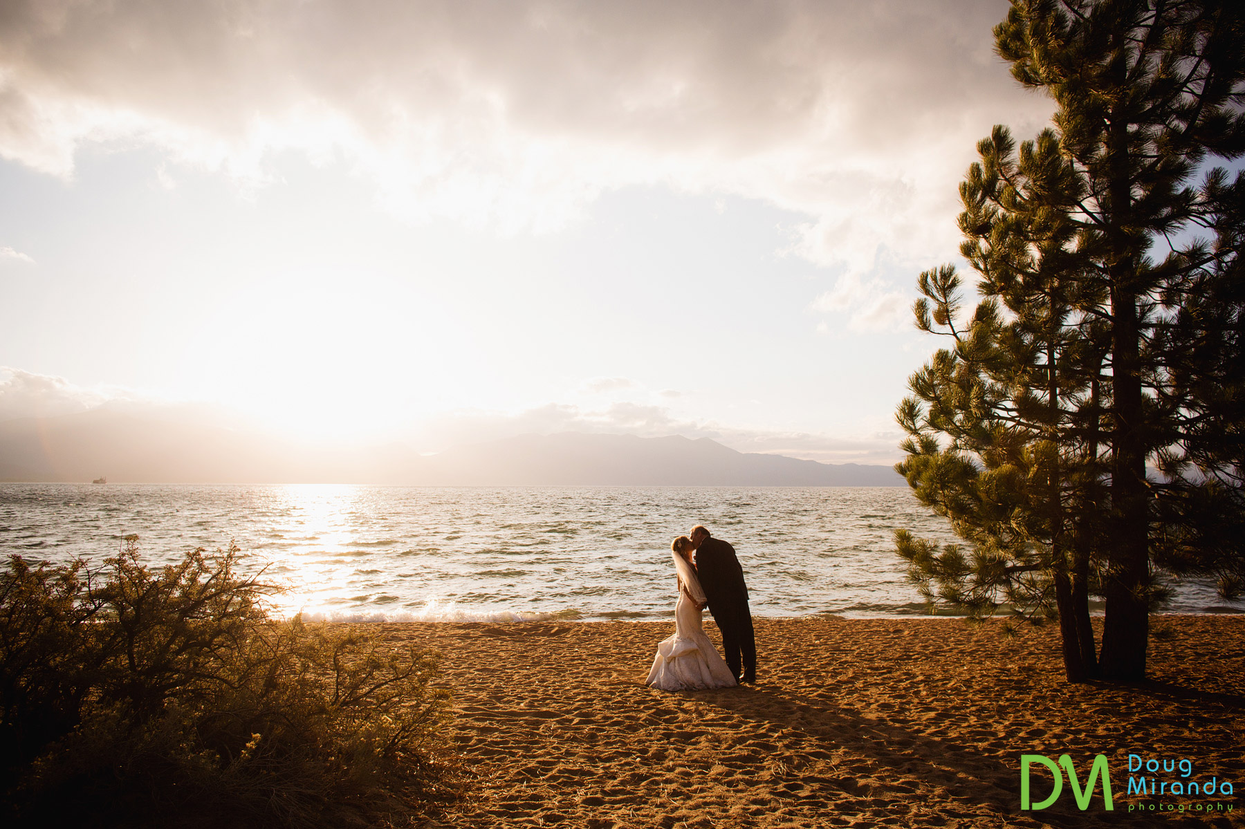 edgewood tahoe fall wedding photos