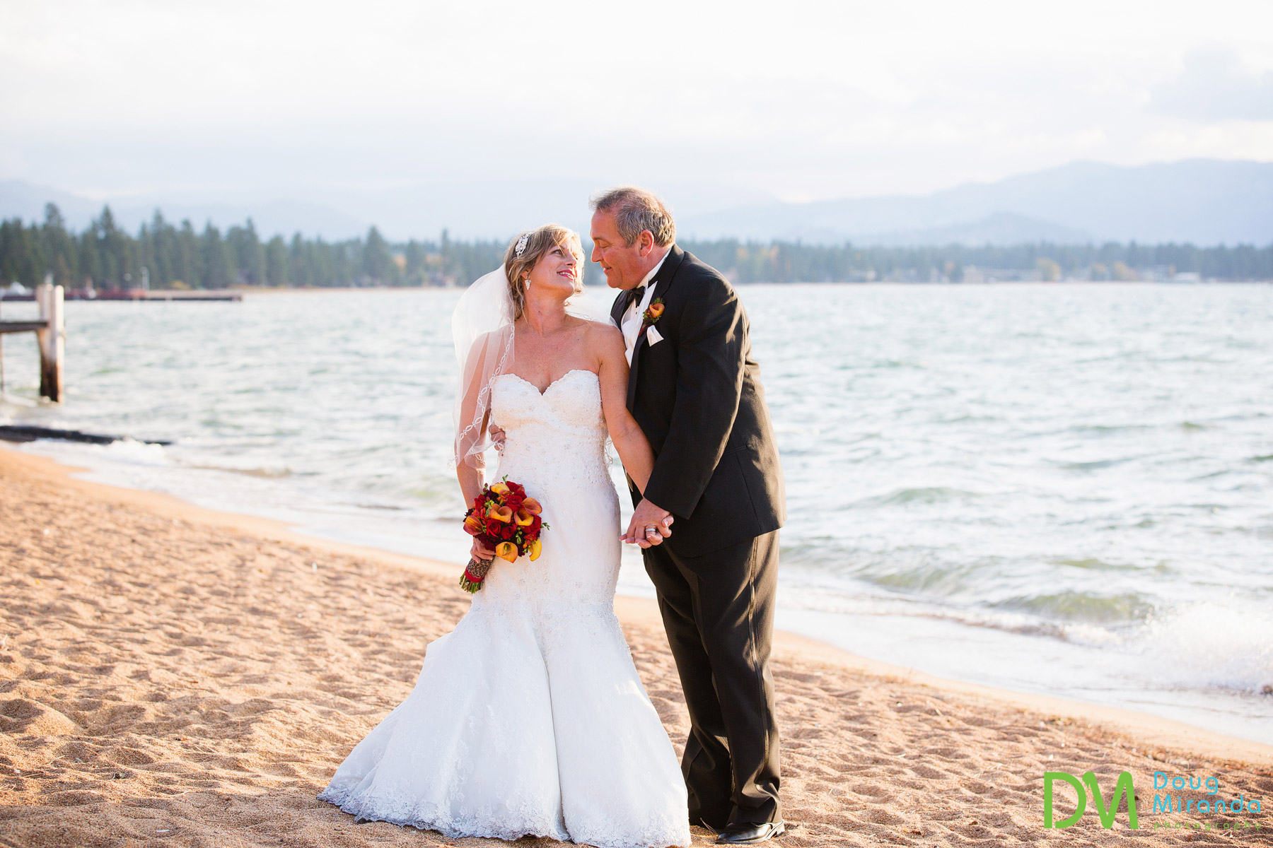 lake tahoe beach wedding locations