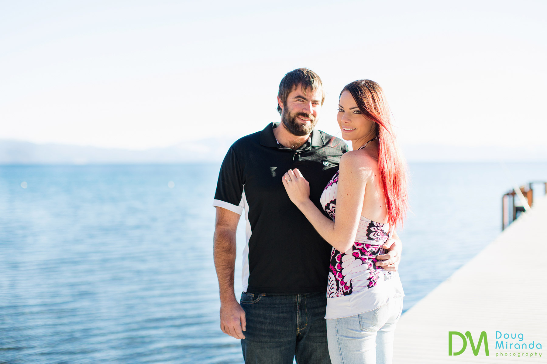 north lake tahoe engagement photographer