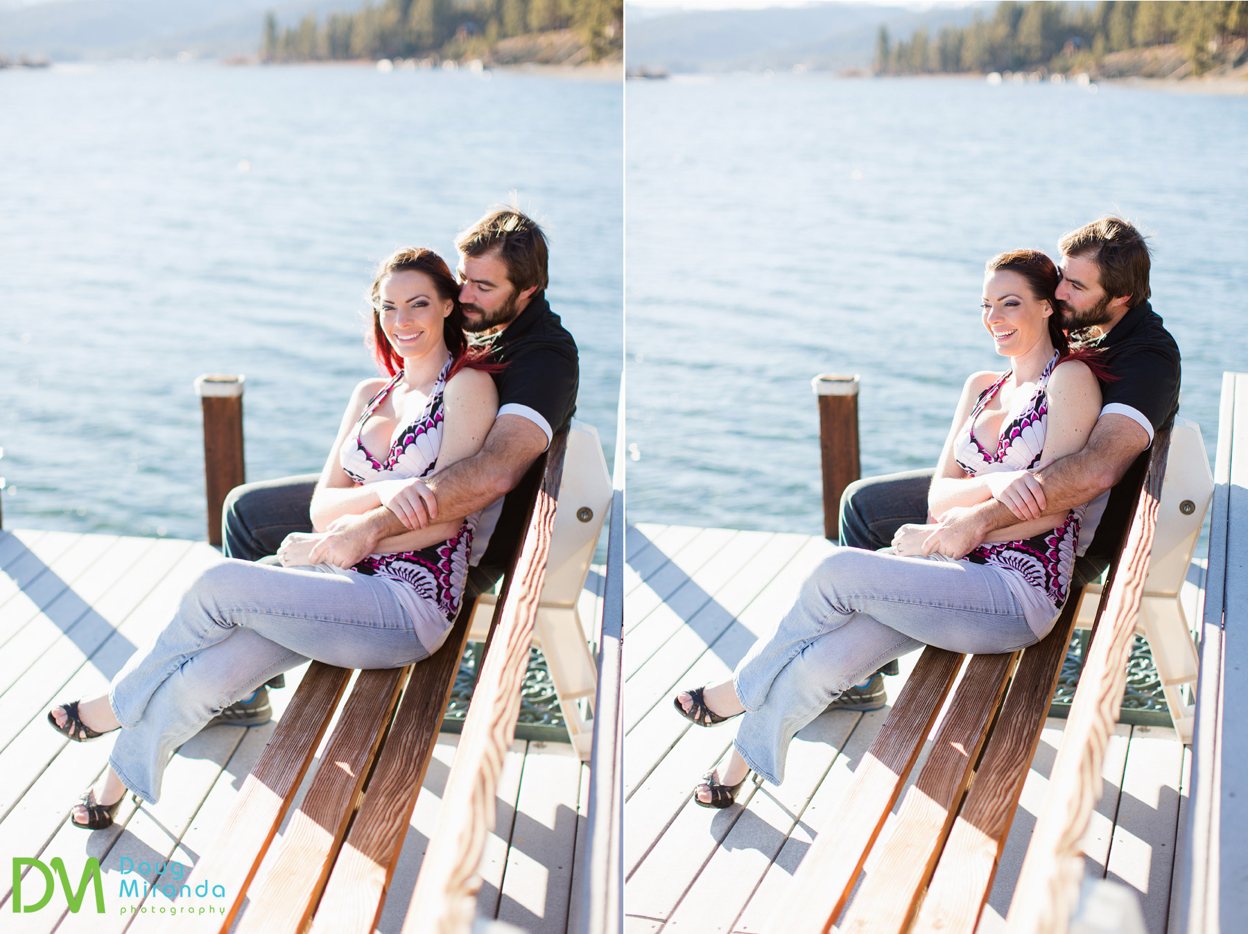 tahoe city engagement photography