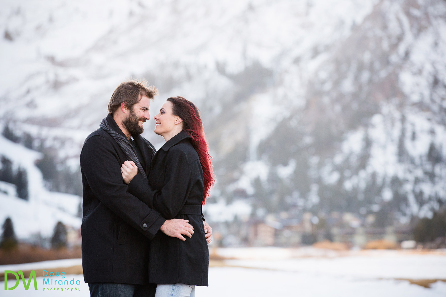 squaw valley engagement photography