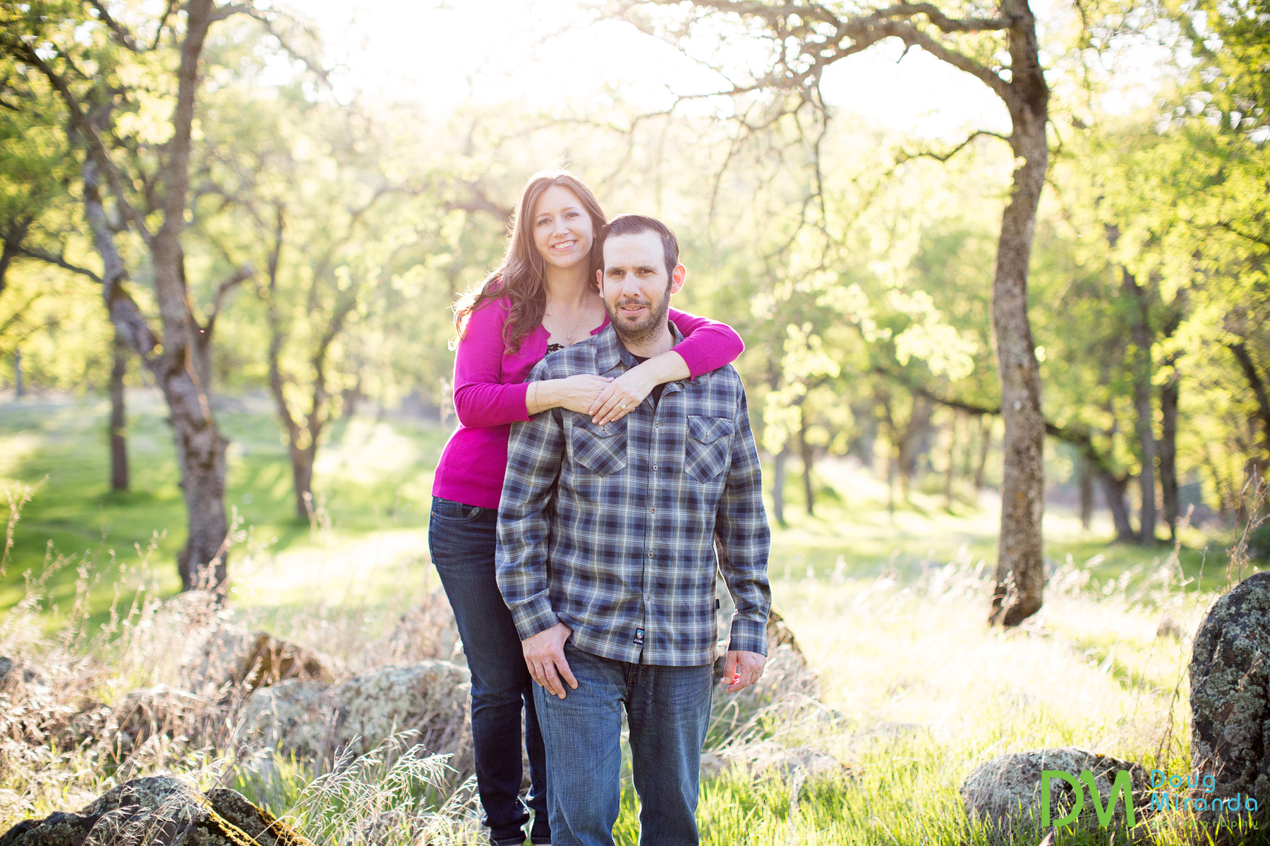 el dorado hills engagement photos