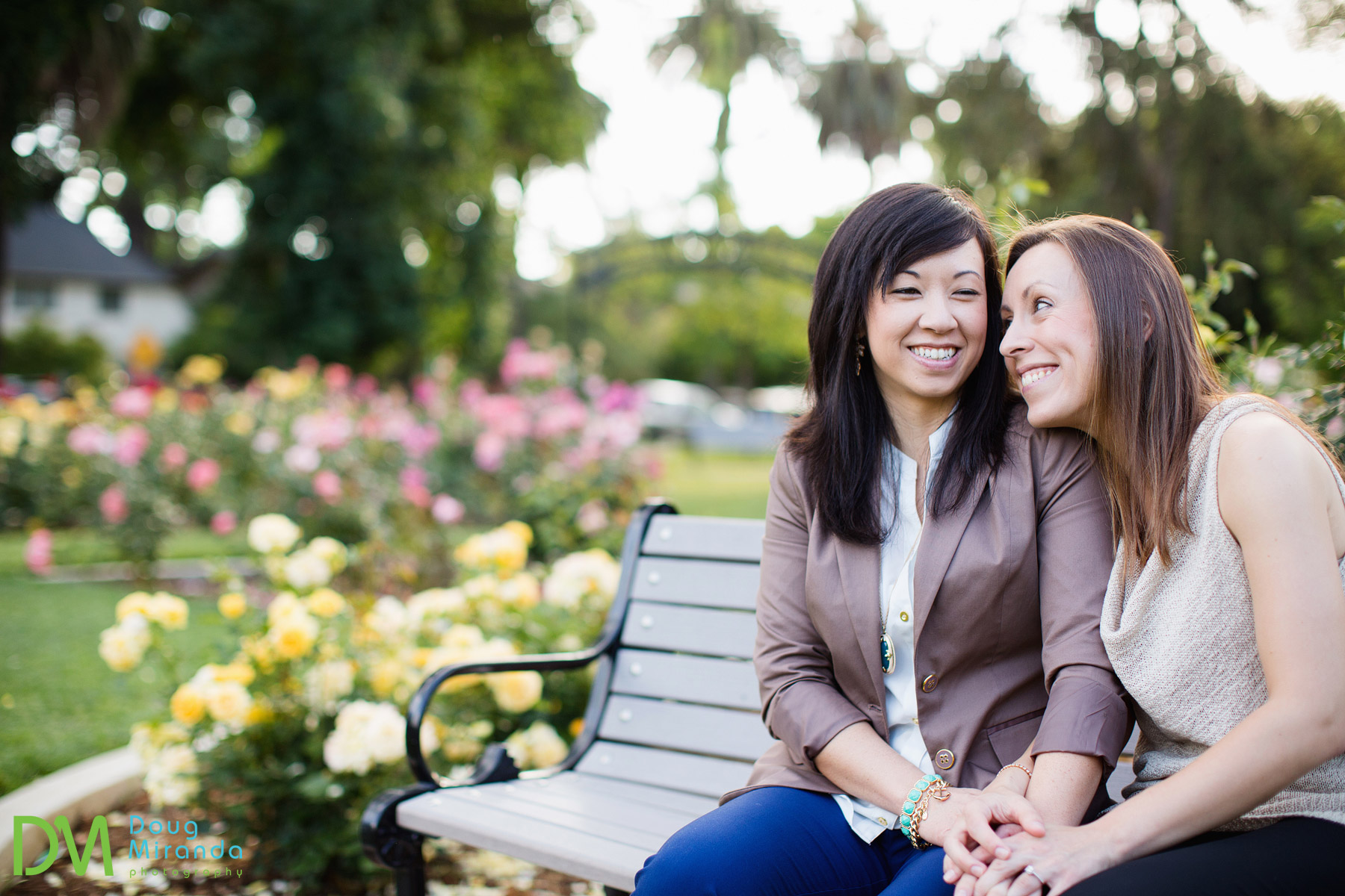 mckinley park sacramento engagement session