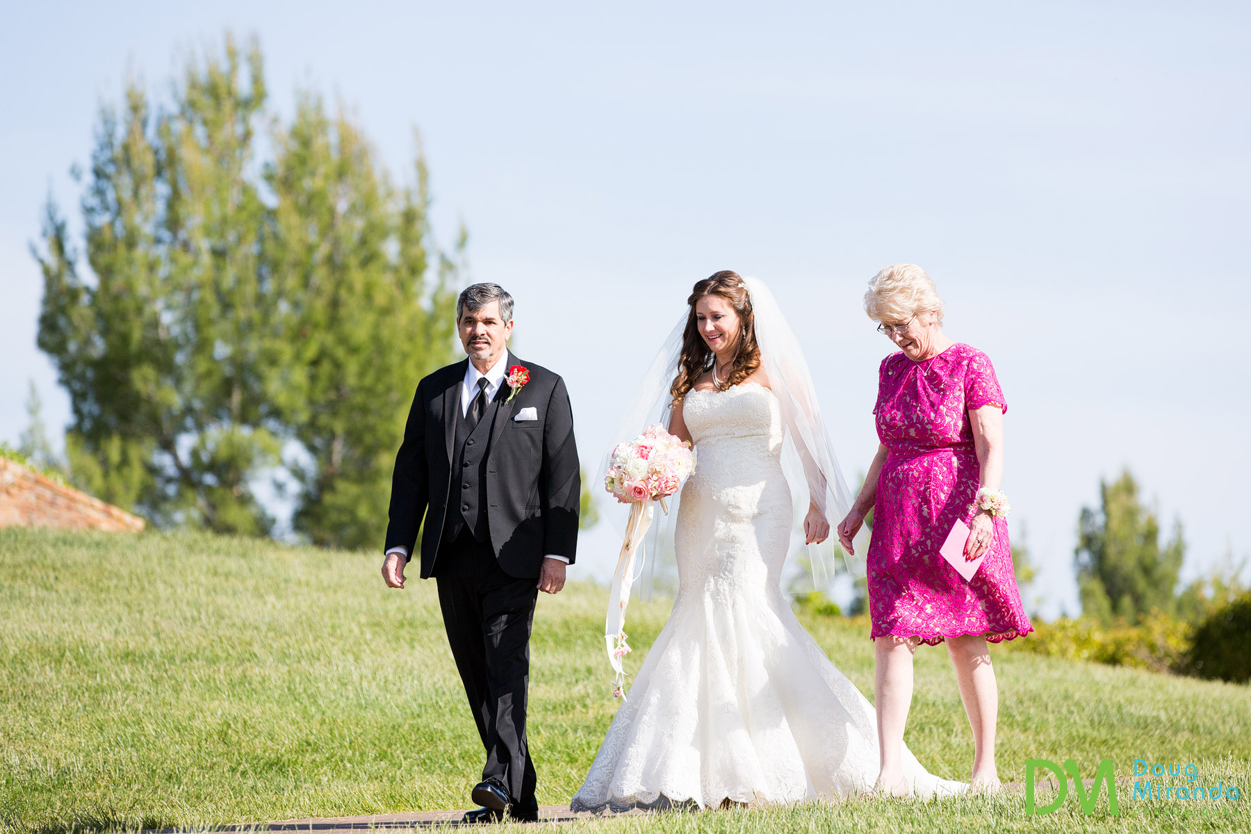 wedding photography at serrano country club
