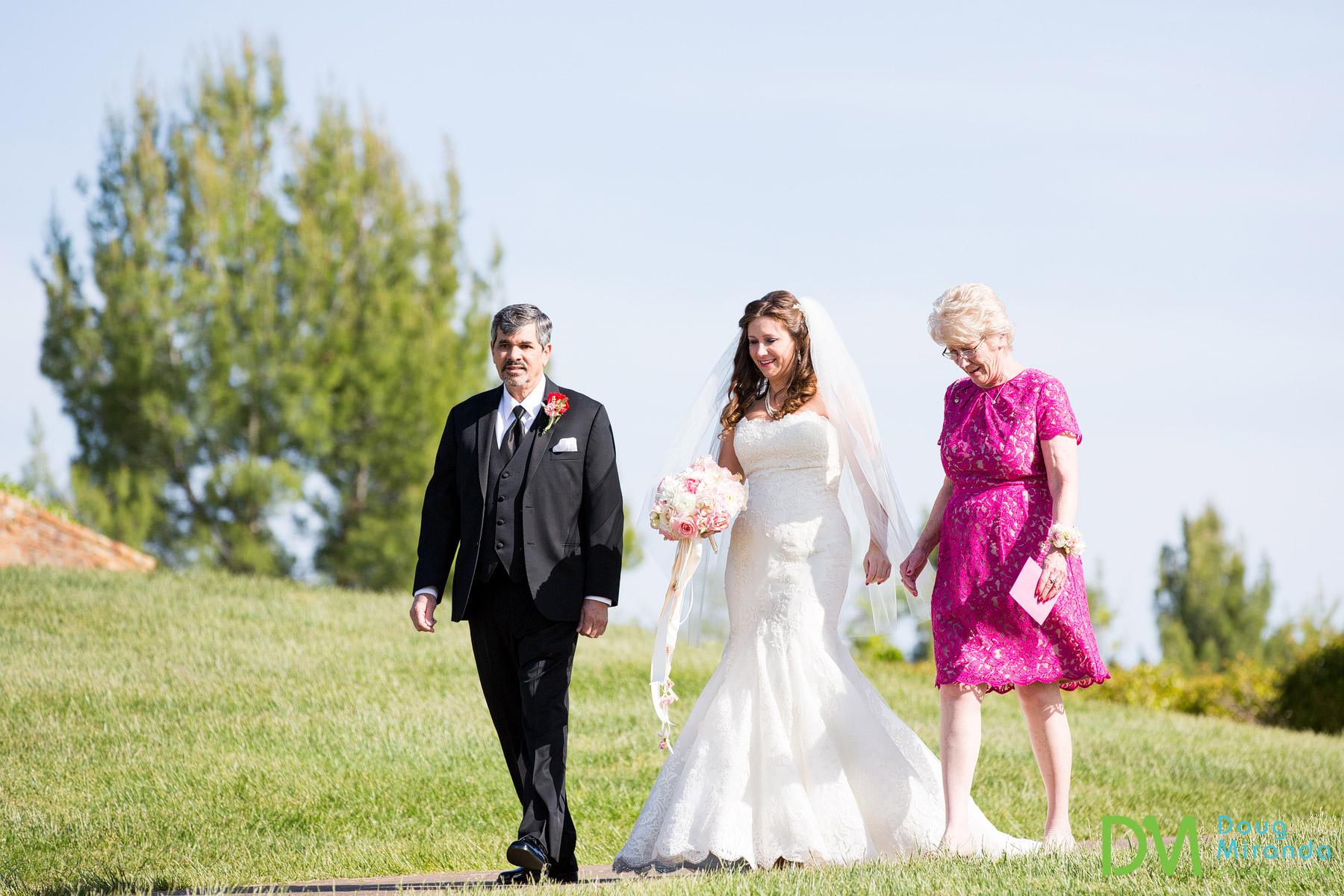 wedding photography at serrano country club