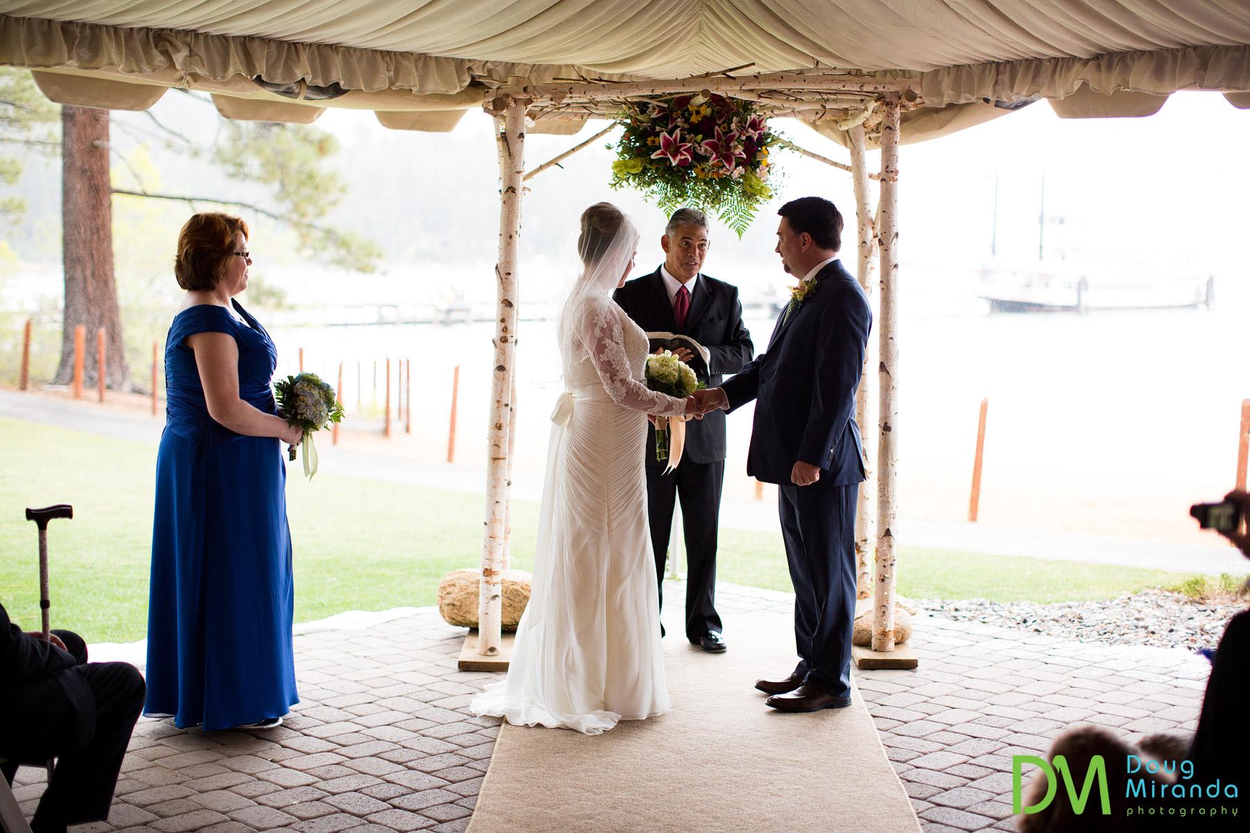 lake tahoe wedding ceremony location photos