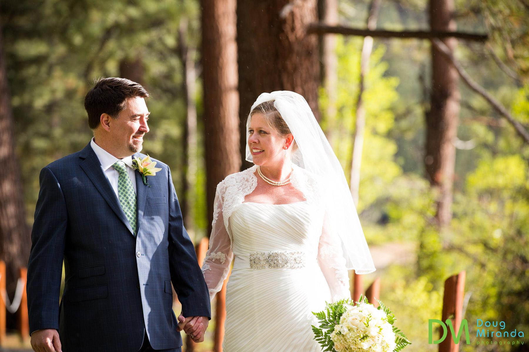 fun lake tahoe wedding photos