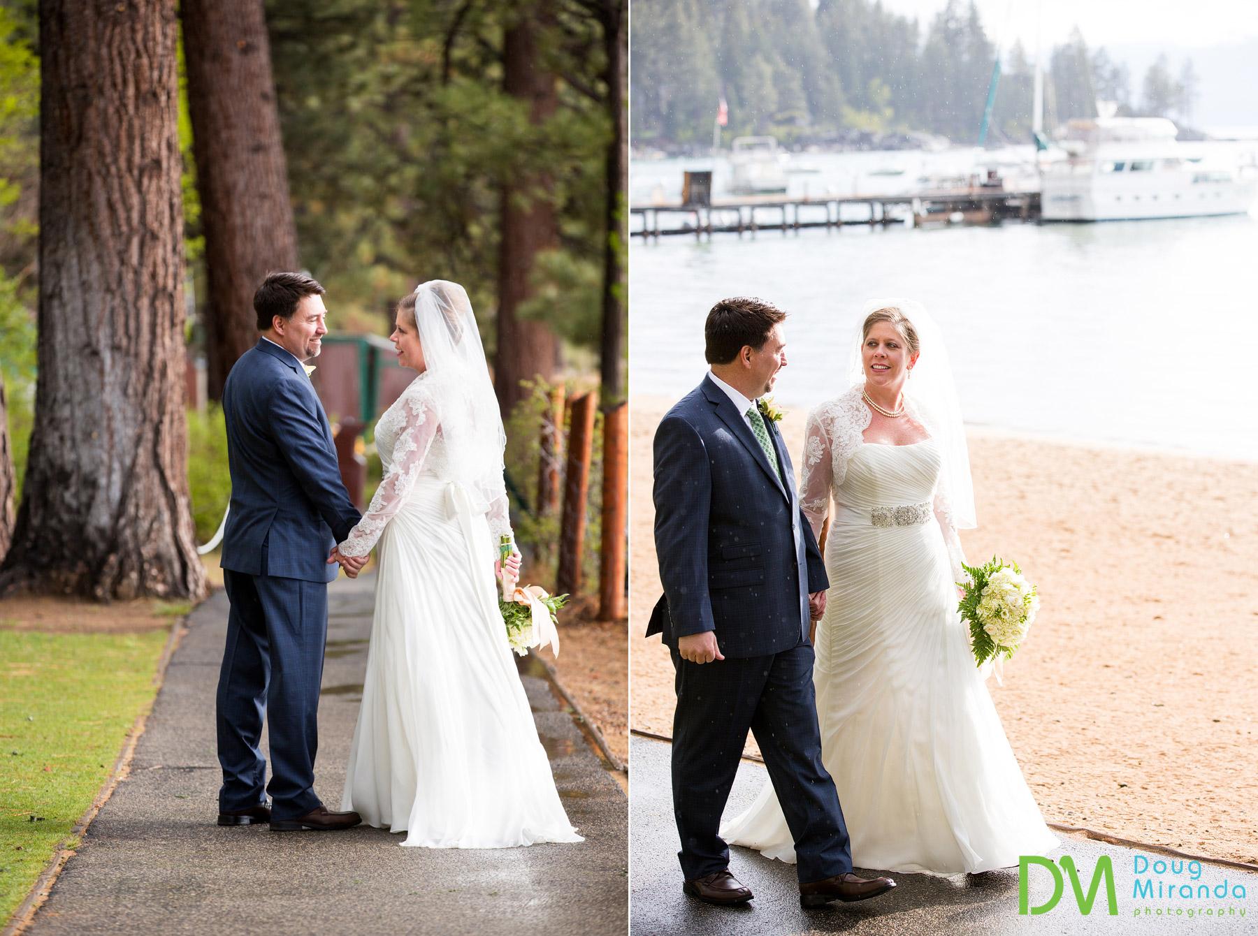 lake tahoe beach wedding locations