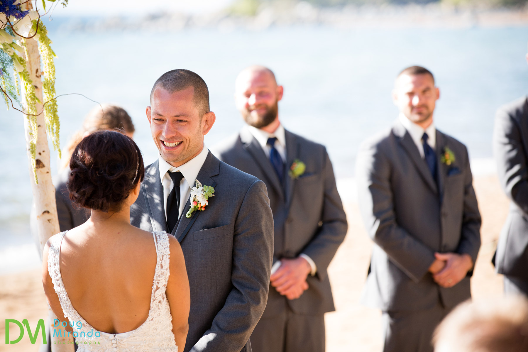 zephyr cove wedding ceremony photos