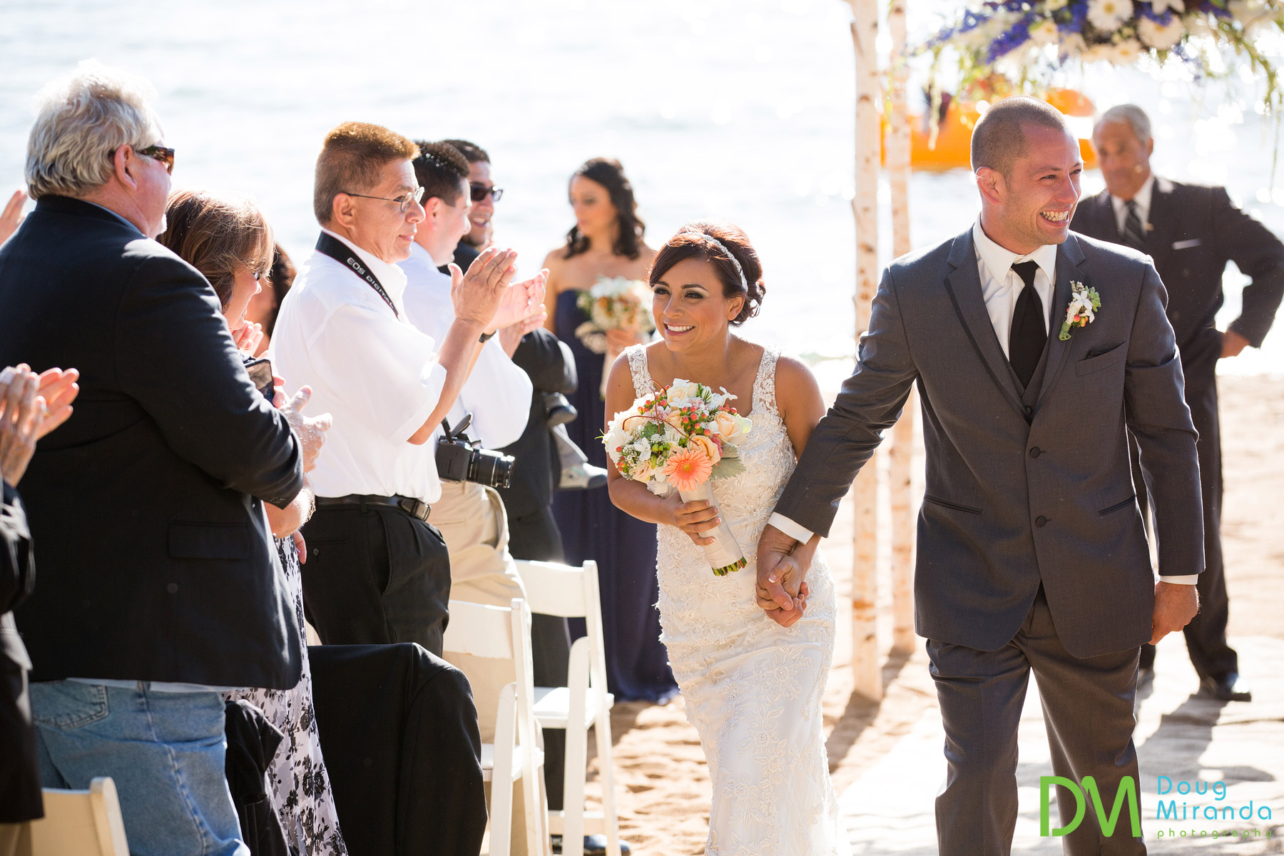 lake tahoe beach weddings photos
