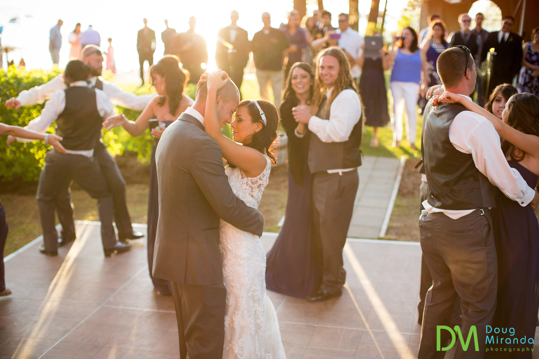 lake tahoe beach wedding receptions
