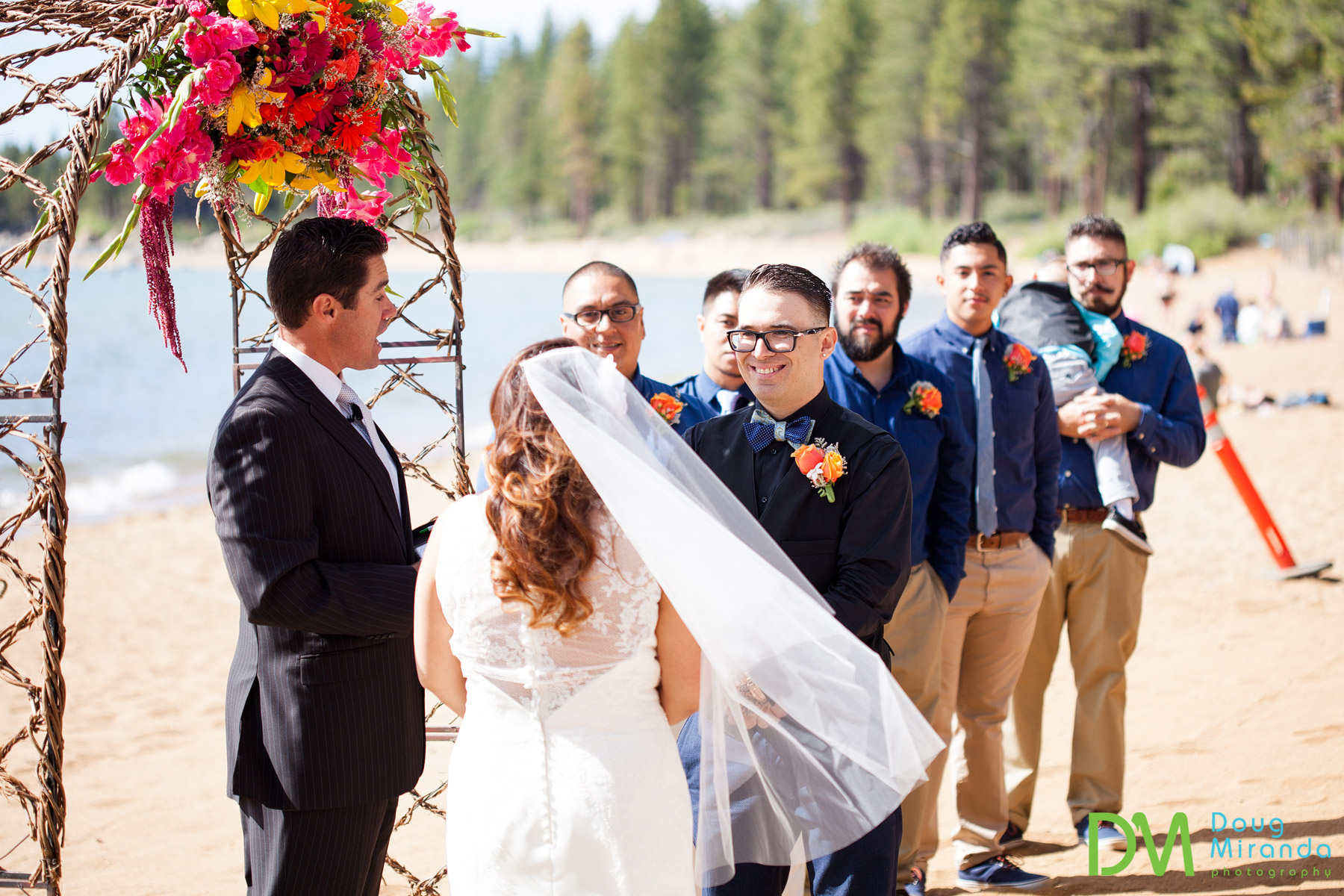 lake tahoe beach wedding venues