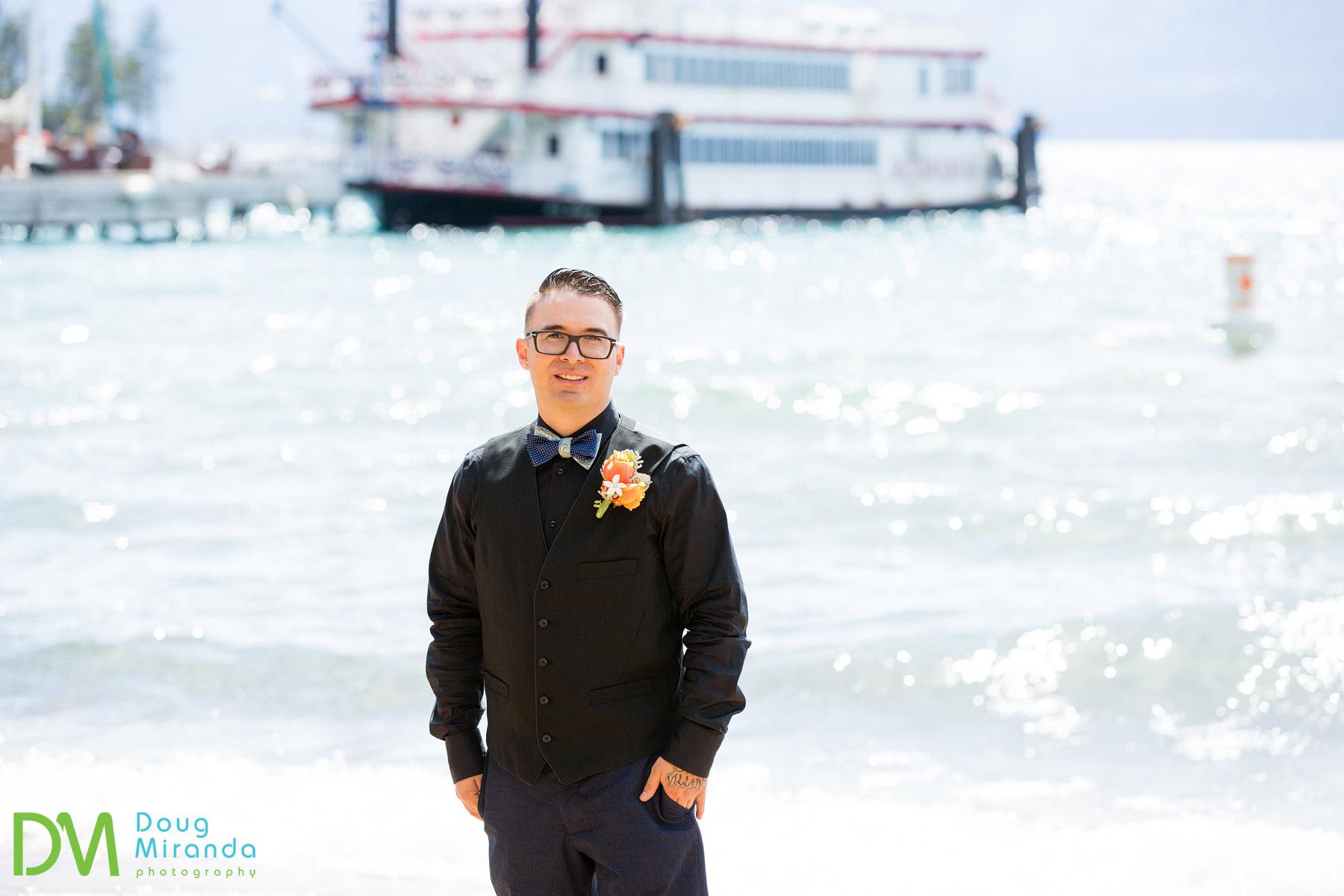 lake tahoe beach wedding venues