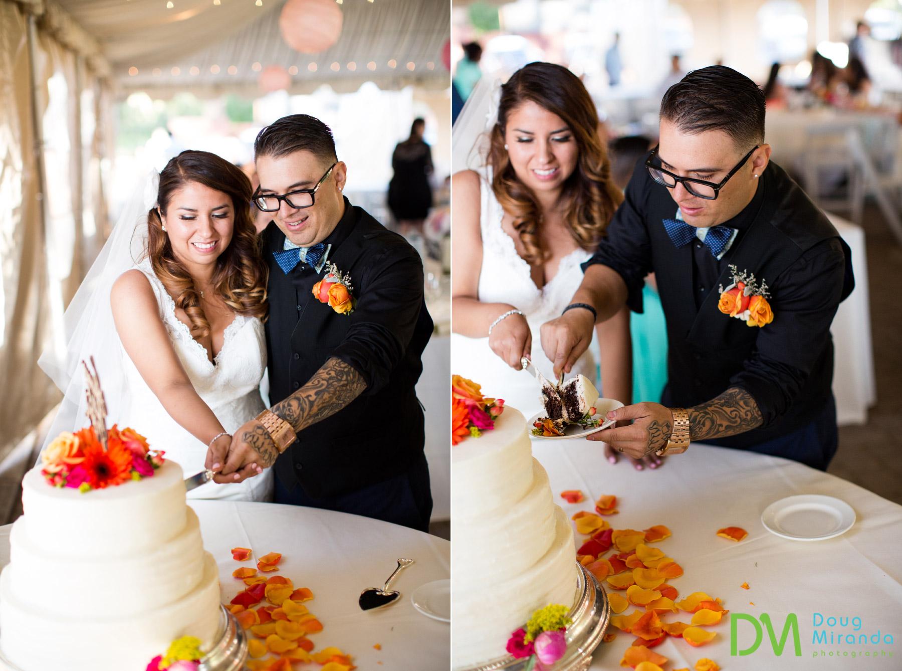 lake tahoe wedding reception