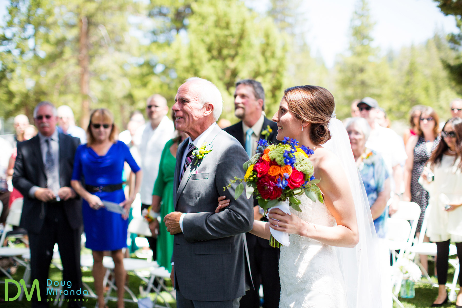 weddings ceremony at tahoe paradise park