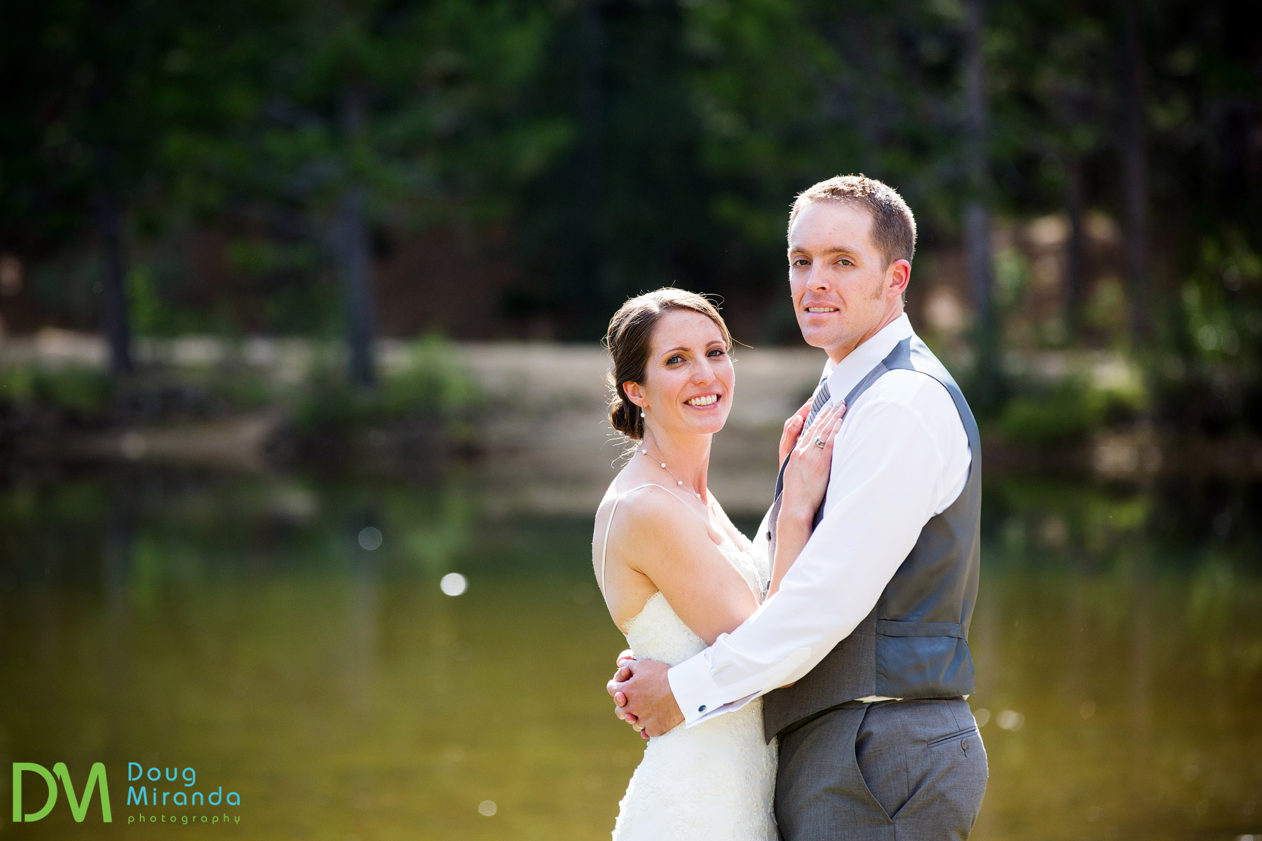 wedding photos at tahoe paradise park